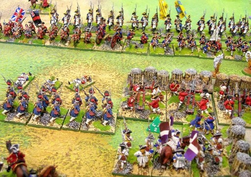 Battle around the Village Old Glory 28mm figures