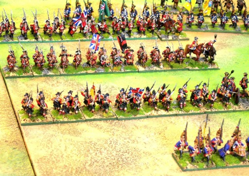 British Seven Years War 28mm Old Glory miniatures