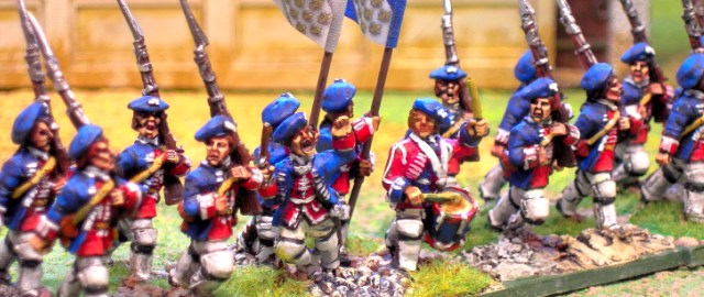 28mm Jacobite Rising, 1745. Royal Eccossaises