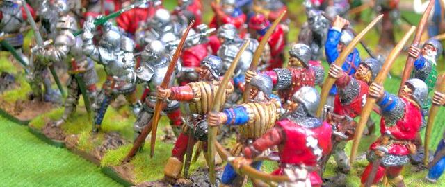28mm and 40mm Wars of the Roses