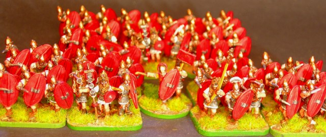 15mm Roman Ligionaries