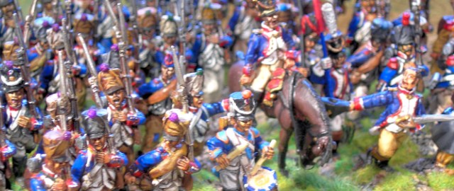 28mm and 40mm Napolenoic Wars